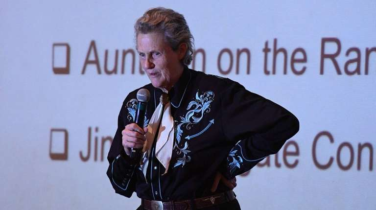 Author and professor Temple Grandin talks about autism