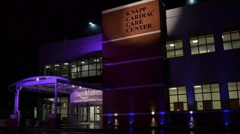 The new 60,000 square foot Knapp Cardiac Care