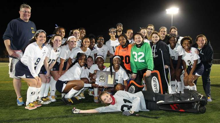 Baldwin celebrates the overtime win during the Nassau