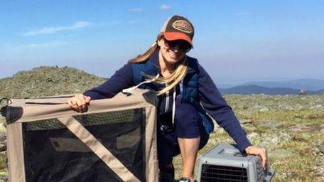 Nicole Rienzie took her beloved cats Monk, right,
