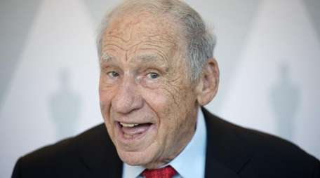 Funnyman Mel Brooks is getting out the vote