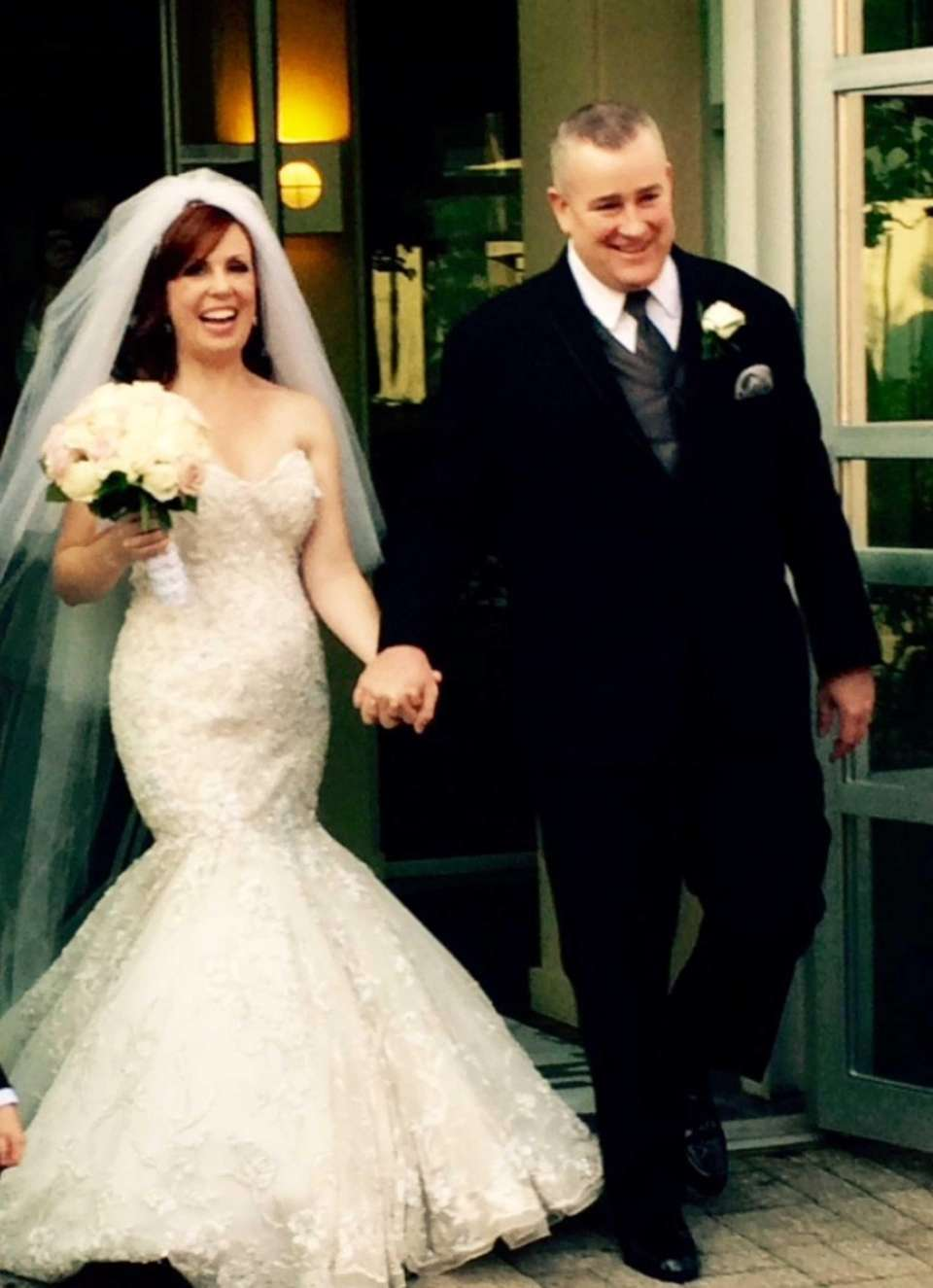 Todd Keyes and Jennifer Baribault were married on