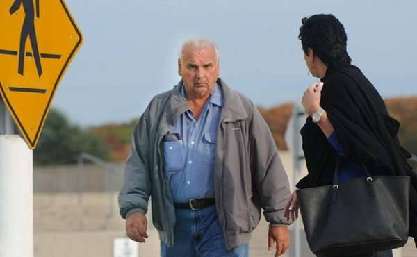 Frank DeCarlo leaves federal court in Central Islip