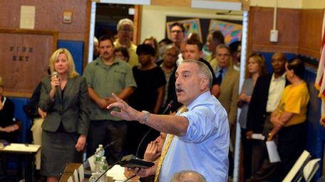 Town of Hempstead IDA member Jonathan Kohan takes