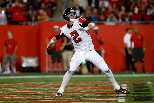 Quarterback Matt Ryan #2 of the Atlanta Falcons