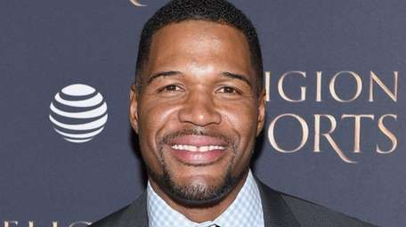 TV Personality Michael Strahan attends AT&T Audience Network
