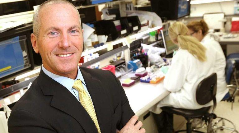 Chembio Diagnostics CEO John J. Sperzel at a