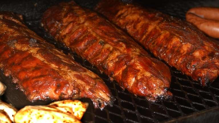 Barbecued ribs, not at Texas Roadhousee; Newsday Photo