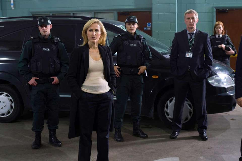 Season 3 with Gillian Anderson's homicide detective hunting