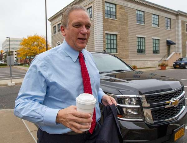 Nassau County Executive Edward Mangano says he has