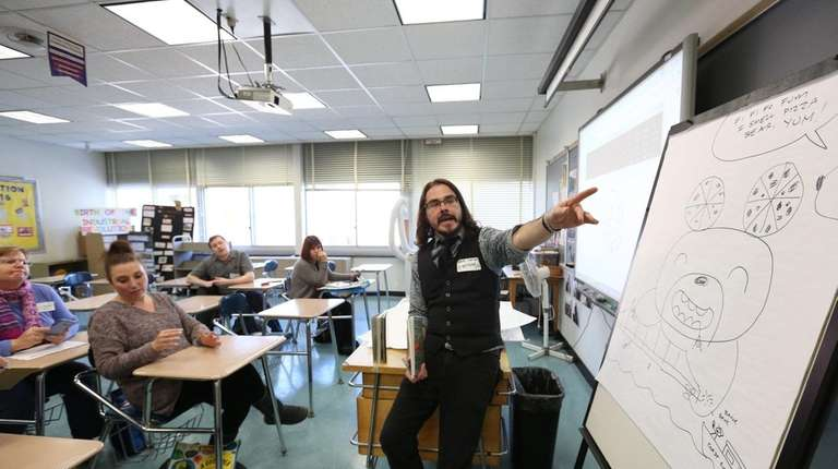 Dave Roman, author, speaks about storytelling, art, and