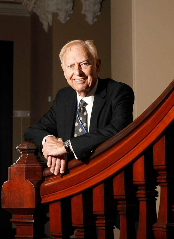 Buffalo News Publisher Stanford Lipsey, chairman of the