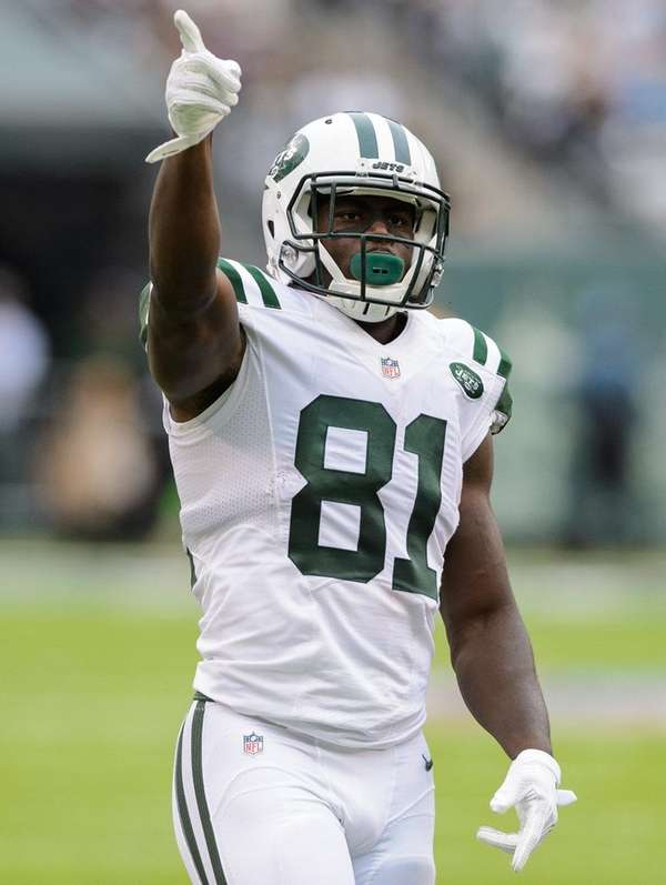 New York Jets wide receiver Quincy Enunwa (81)