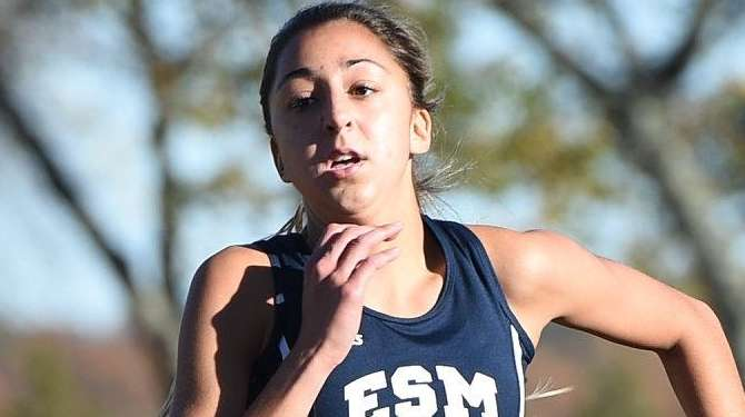 Eastport-South Manor's Taylor McClay wins the Class A
