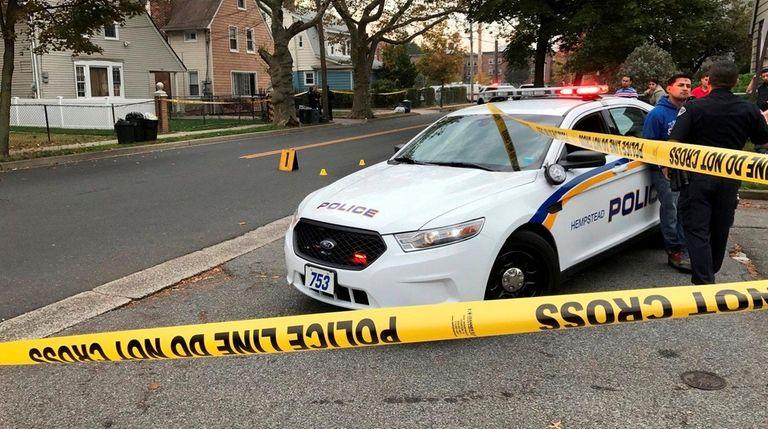 A male pedestrian was fatally struck by a