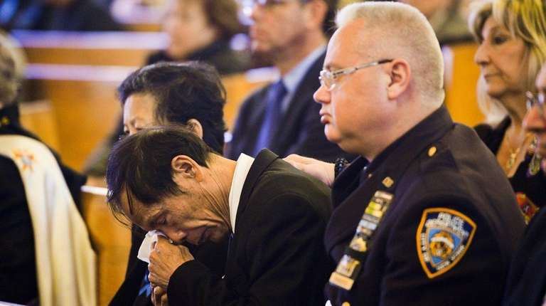 Wei Tang Liu, father of slain NYPD officer