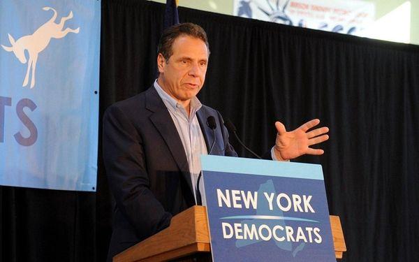 Gov. Andrew M. Cuomo makes a last-minute election