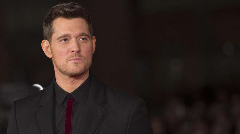 Michael Bublé in Rome on Oct. 14, 2016.