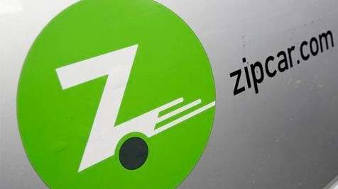 A Zipcar logo is shown in this 2013