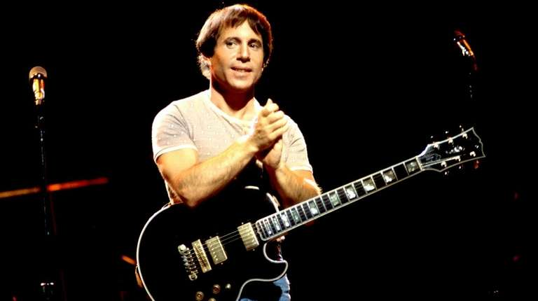 Paul Simon, seen here at a 1980 concert,