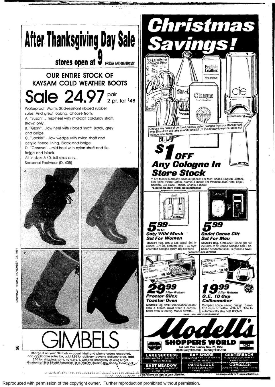Long Island Black Friday Advertisements Through The Years
