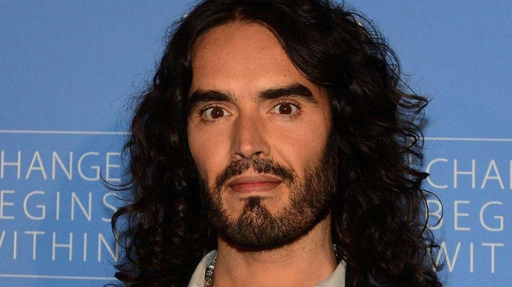 Actor Russell Brand reportedly told the audience at