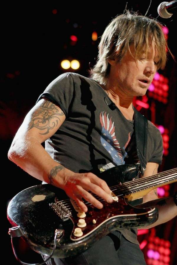 Keith Urban was nominated this year for the