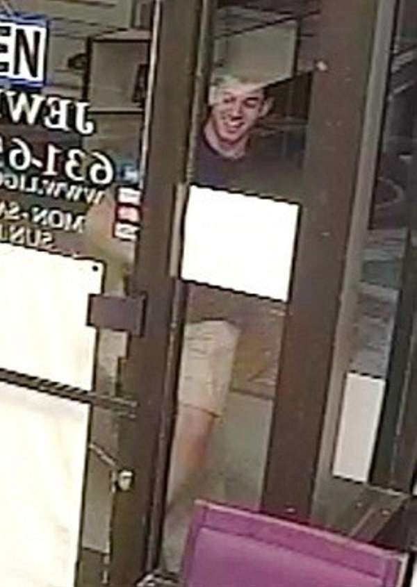 Suffolk County police released a surveillance image of