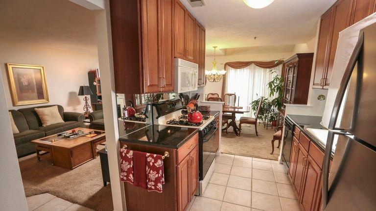 The kitchen of Jacqui Errico's Port Jefferson Station