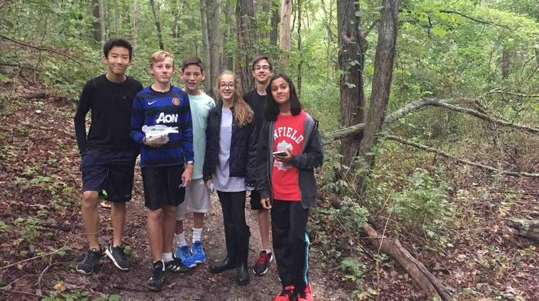 Members of the Outdoor Education Club at South