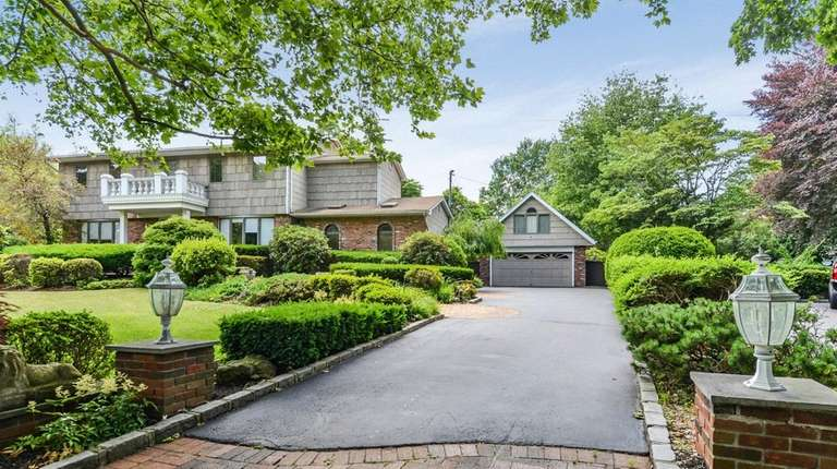 This East Northport Colonial, on the market in