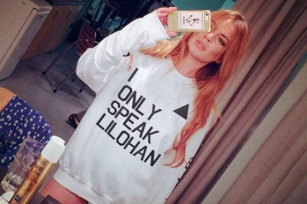 Lindsay Lohan is raising money for charity with