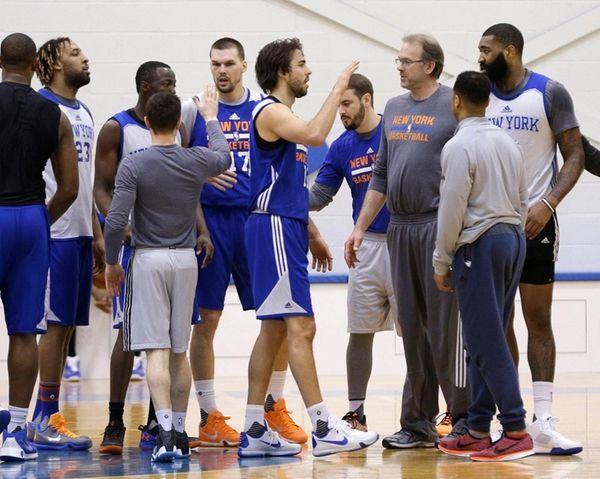 New York Knicks interim head coach Kurt Rambis,