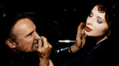 Dennis Hopper and Isabellla Rossellini in David Lynch's