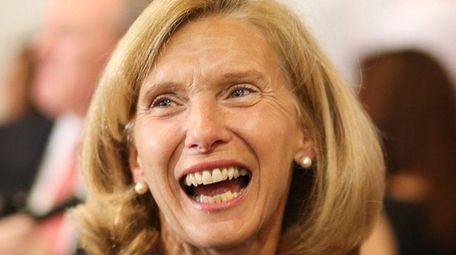 Flower Hill Mayor Elaine Phillips, a Republican, was