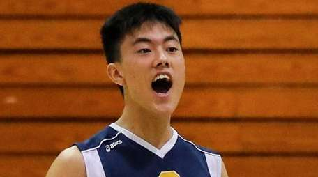 James Kim of Jericho reacts to a point