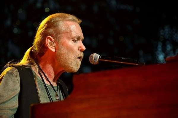 Gregg Allman performs at The Fox Theatre on
