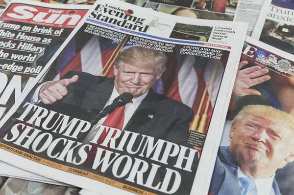 UK newspapers The Sun, The Times and The