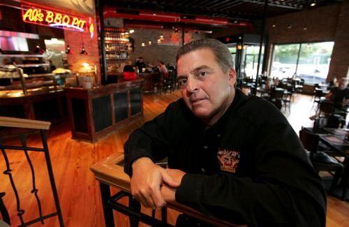 Smokin' Al Horowitz at his Massapequa Park restaurant