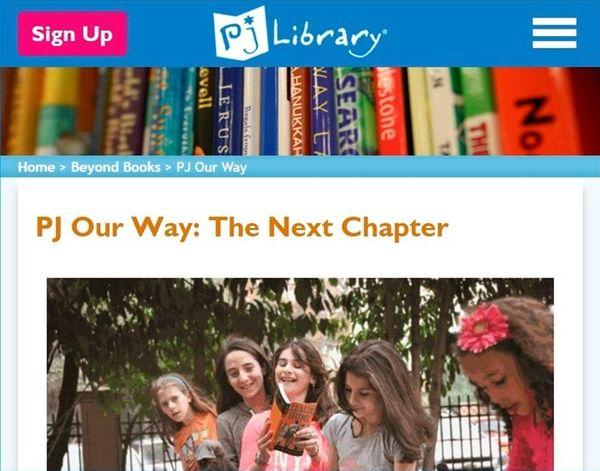 PJ Library sends free books about Jewish ways