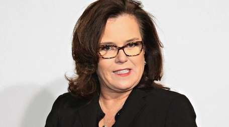 Rosie O'Donnell attends an event at the New