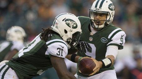 Quarterback Bryce Petty of the New York Jets
