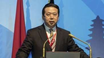 China's Vice Minister of Public Security Meng Hongwei