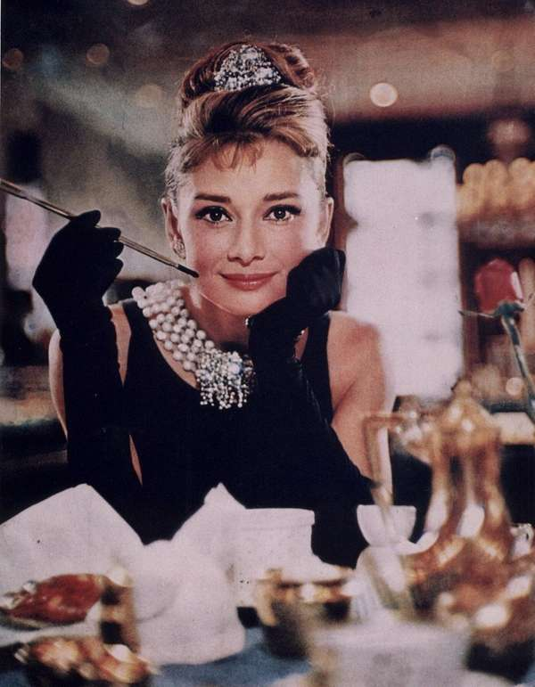 Audrey Hepburn as New York party girl Holly