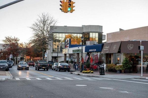 School Street in downtown Glen Cove.