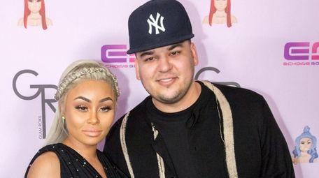 Reality stars Blac Chyna and Rob Kardashian have