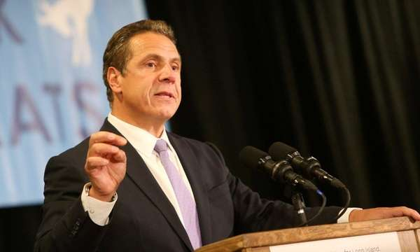 Gov. Andrew M. Cuomo speaks at an event