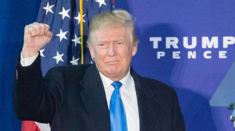 Donald Trump turned his agent-of-change of matra into