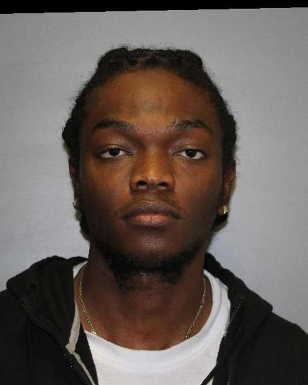 Oneil Sharpe Jr., 24, of Springfield Gardens, Queens,