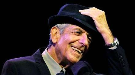 Leonard Cohen, the baritone-voiced Canadian singer-songwriter who seamlessly